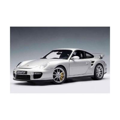 ダイキャストカー ポルシェ 911(997) GT2 シルバー 1/18