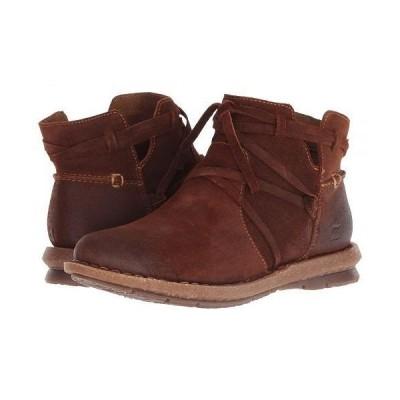 Born ボーン レディース 女性用 シューズ 靴 ブーツ アンクルブーツ ショート Tarkiln - Brown Distressed
