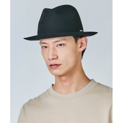 OVERRIDE / OVERRIDE FELT ROLL-UP FEDORA MEN 帽子 > ハット