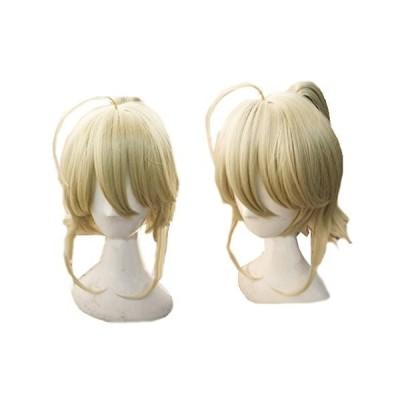 【HALLE】耐熱コスプレウィッグ  キャラクターウィッグ  ターニャ風  wig かつら