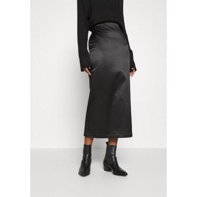 ウィークデイ スカート レディース ボトムス SIGNE SKIRT - Pencil skirt - black