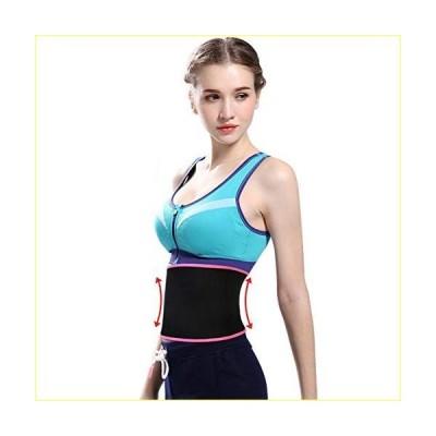 FEimaX Waist Trimmer Belt, Waist Trainer Belt for Women & Men, Waist Support & Abdominal Stabiliser, Weight Loss Ab Belt with Sauna Effect P