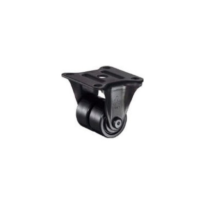 HAMMER/ハンマーキャスター  低床式中荷重用固定双輪ナイロンB車38mm 550R-NRB38BAR01