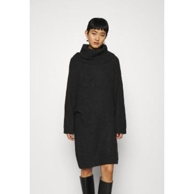 アーケット レディース ワンピース トップス DRESS - Jumper dress - dark grey dark grey