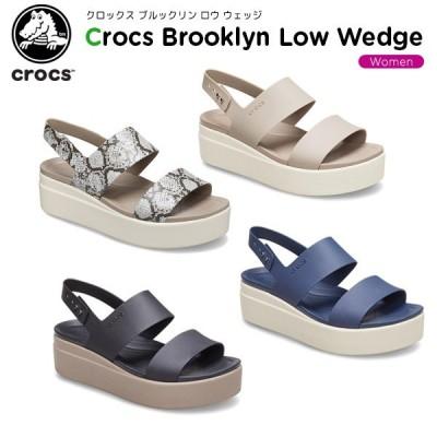 クロックス crocs クロックス ブルックリン ロウ ウェッジ ウィメン crocs brooklyn low wedge w レディース 女性用 シューズ サンダル[C/A]