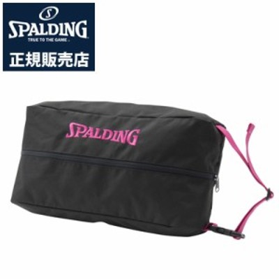 【送料無料】【正規販売店】スポルディング バスケットボール シューズバッグ シューバッグ ピンク テープ 42-002PKT