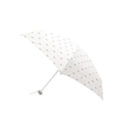 grove / グローブ 晴雨兼用ドットジェムリボン折り畳み傘