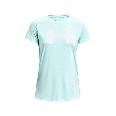 並行輸入品 Under Armour Women's Tech Twist Big Logo Short-Sleeve Crew Neck T-Shirt , B