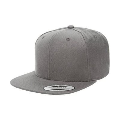 Yupoong Flexfit 6089M、6089MT、6089CAMO 6パネルプレミアムクラシックスナップバック帽子キャップ (ダークグレー)