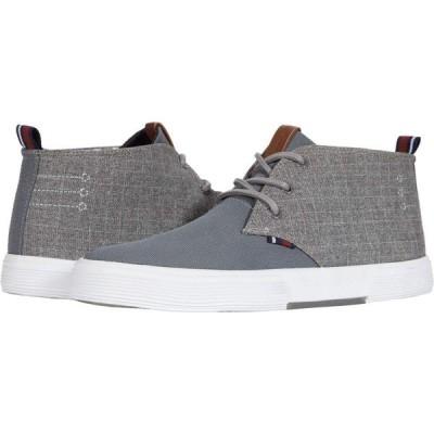 ベンシャーマン Ben Sherman メンズ ブーツ チャッカブーツ シューズ・靴 Bradford Chukka Dark Grey Nylon/Textile