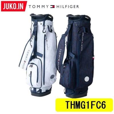 【予約受付中!】2021FW トミーヒルフィガーゴルフ キャディバッグ TOMMY HILFIGER THMG1FC6 トレインモノグラム 日本正規品取扱い店 JUKO.IN グルッペ