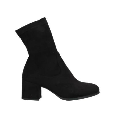 MICHEAL WANG ショートブーツ ブラック 36 紡績繊維 ショートブーツ