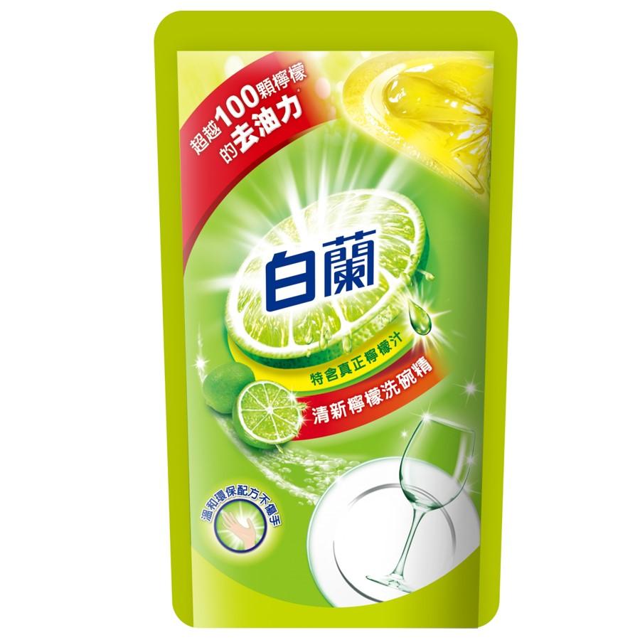 白蘭動力洗碗精補充包檸檬800g