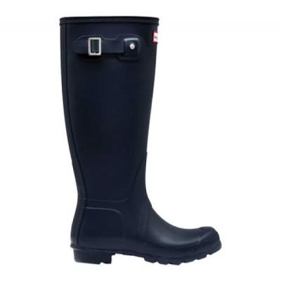 ハンター Hunter レディース レインシューズ・長靴 シューズ・靴 Original Tall Rain Boot Navy