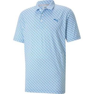 プーマ メンズ シャツ トップス PUMA Men's Leucada Golf Polo Star Sapphire