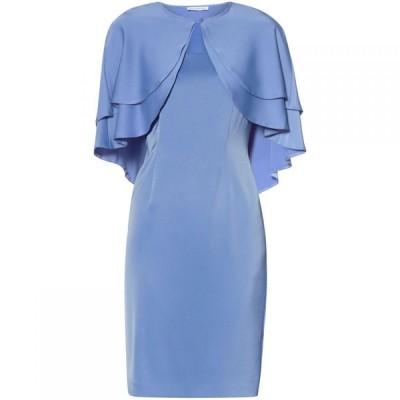 ジーナ バッコーニ Gina Bacconi レディース ワンピース ワンピース・ドレス Colette Dress And Cape Blue