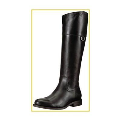 Frye Women's Jayden D Ring Riding Boot, Black Smooth Oiled Veg, 9 M US