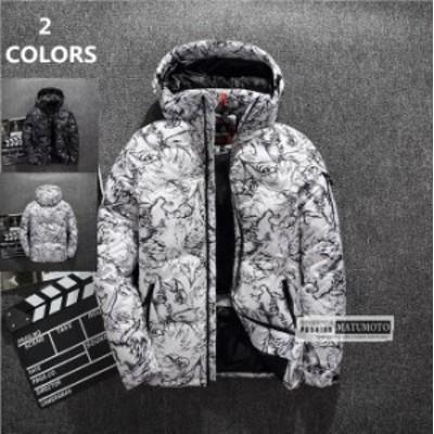 【還元祭クーポン使える】ダウンジャケットジャケットメンズ コート 中綿コート アウター ジャケット  厚手  フード付き  アウター