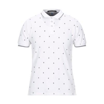 マッシモ レベッキ MASSIMO REBECCHI ポロシャツ ホワイト L コットン 98% / ポリウレタン 2% ポロシャツ