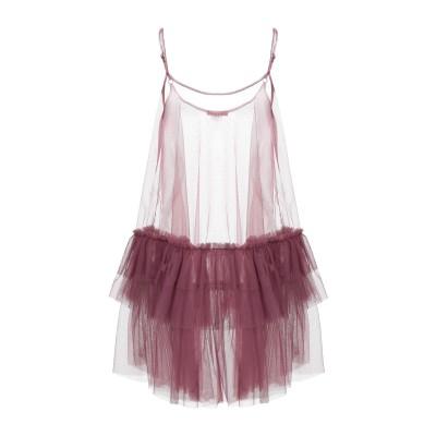 DV Roma ミニワンピース&ドレス ガーネット XS ナイロン 100% ミニワンピース&ドレス