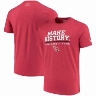 Under Armour アンダー アーマー スポーツ用品  Under Armour Arizona Cardinals Cardinal NFL Combine Authentic Make Hi