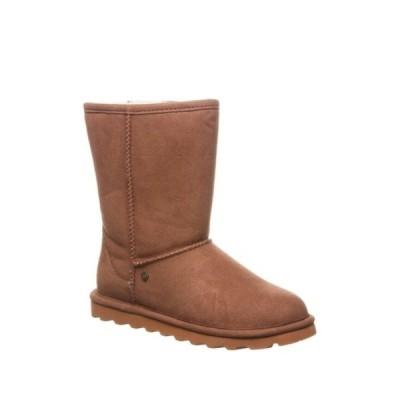 ベアパウ レディース ブーツ&レインブーツ シューズ Elle Short Vegan Faux Fur Lined Boot HICKORY I