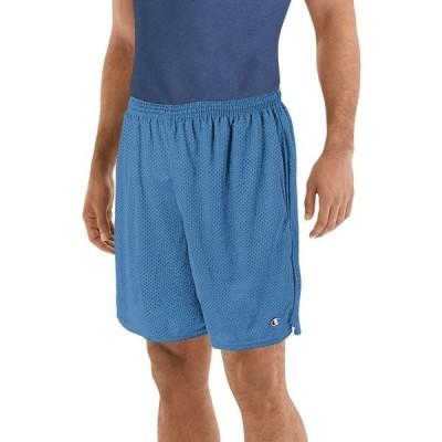 チャンピオン ハーフ&ショーツ ボトムス メンズ Champion Men's Mesh Shorts (Regular and Big & Tall) SwissBlue