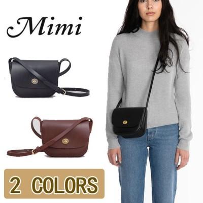 Mimi ミミ  ショルダーバッグ  ポシェット バッグ レディース ファッション カバン ショルダーバッグ 2colors 送料無料