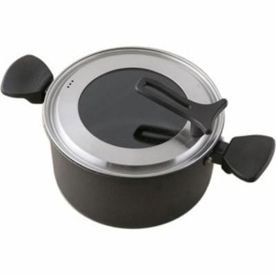 貝印 軽い両手鍋 IH対応 22cm 型番:DW-5645
