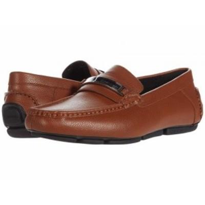 Calvin Klein カルバンクライン メンズ 男性用 シューズ 靴 ローファー Merve Russett Tumbled Smooth【送料無料】