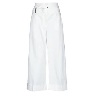 ペゼリコ PESERICO パンツ ホワイト 40 指定外繊維(紙) 97% / ポリウレタン 3% パンツ
