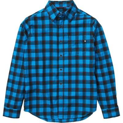 (取寄)マーモット ライトウェイト ロングスリーブ フランネル - メンズ Marmot Bodega Lightweight Long-Sleeve Flannel - Men's Clear Blue