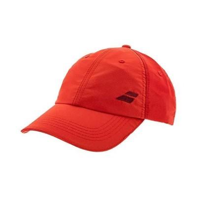 Babolat Men's Basic Logo Cap, Tomato Red, One Size