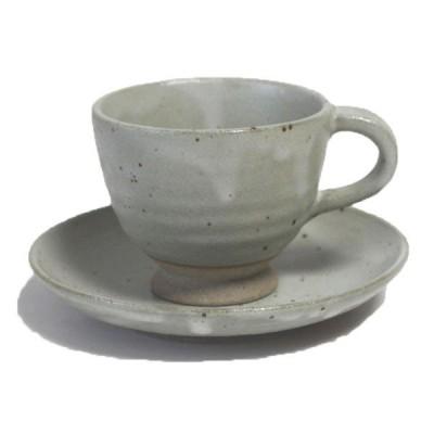 コーヒーカップ&ソーサー うのふ高台 コーヒー碗皿 国産
