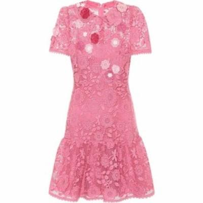 レッド ヴァレンティノ REDValentino レディース パーティードレス ワンピース・ドレス Lace minidress Fancy Pink