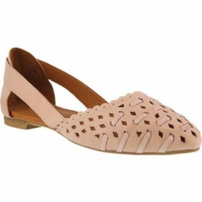 スプリングステップ スリッポン・フラット Delorse Ballet Flat Pink Leather