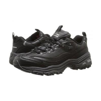 SKECHERS スケッチャーズ レディース 女性用 シューズ 靴 スニーカー 運動靴 D'Lites - Fresh Start - Black