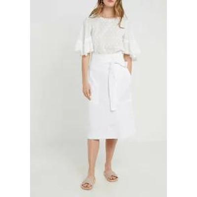 Vanessa Bruno レディーススカート Vanessa Bruno LORIANA - A-line skirt - off-white off