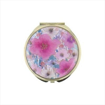 ミラー お花 ピンク GMR0144-PK ▼プレゼントにもおすすめ
