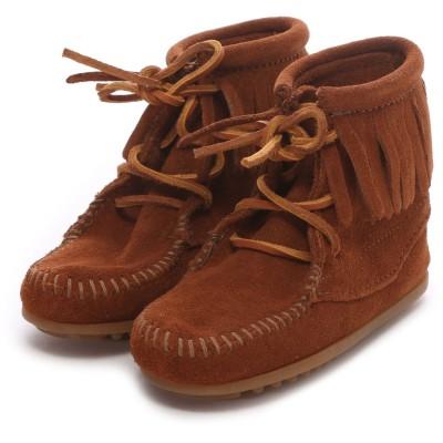 【Kid's】ミネトンカ MINNE TONKA ANKLE HI TRAMPER BOOT(Brown)