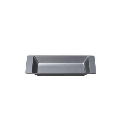 トレー 深型トレー銀透き裏黒塗 幅241 奥行114 高さ22/業務用/新品