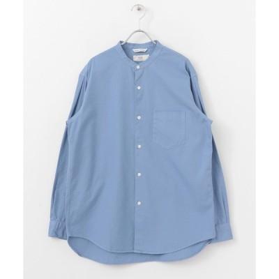 シャツ ブラウス WORK NOT WORK 120/3 OXナイスフィットバンドカラーシャツ