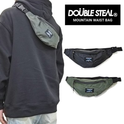 DOUBLE STEAL ダブルスティール MOUNTAIN WAIST BAG ウエストバッグ ボディバッグ ショルダーバッグ 鞄 405-92063