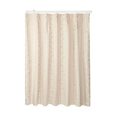 ベルーナ-BELLUNA-「ブレア」防音・断熱・保温・1級遮光カーテン-ピンク-約幅100×丈110cm
