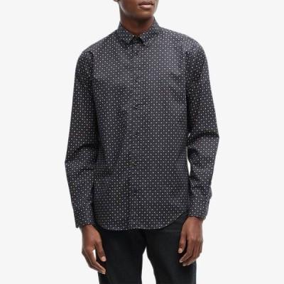 ラグアンドボーン シャツ トップス メンズ Fit 1 Zac Shirt Black Multi
