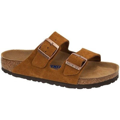 ビルケンシュトック サンダル レディース シューズ Arizona Soft Footbed Limited Edition Sandal - Women's Mink Suede