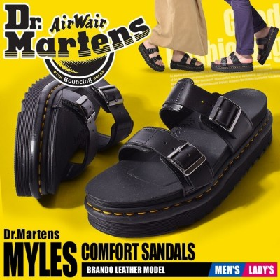 【ショップクーポン利用でお得】 DR.MARTENS ドクターマーチン サンダル マイルス スライド サンダル 23523001 メンズ レディース