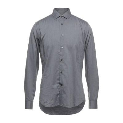 CORNELIANI ID シャツ 鉛色 40 コットン 100% シャツ