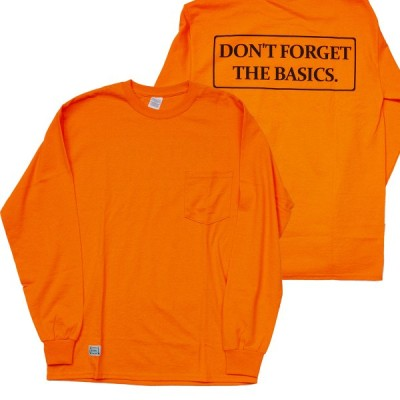 ODDBALL ORIGINAL (オッドボール,オリジナル,ロンT) DFTB  L/S POCKET TEE s.orange