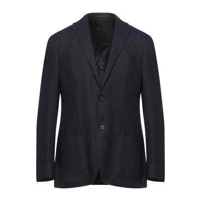 NINO DANIELI テーラードジャケット ダークブルー 50 バージンウール 50% / レーヨン 37% / ナイロン 13% テーラードジ